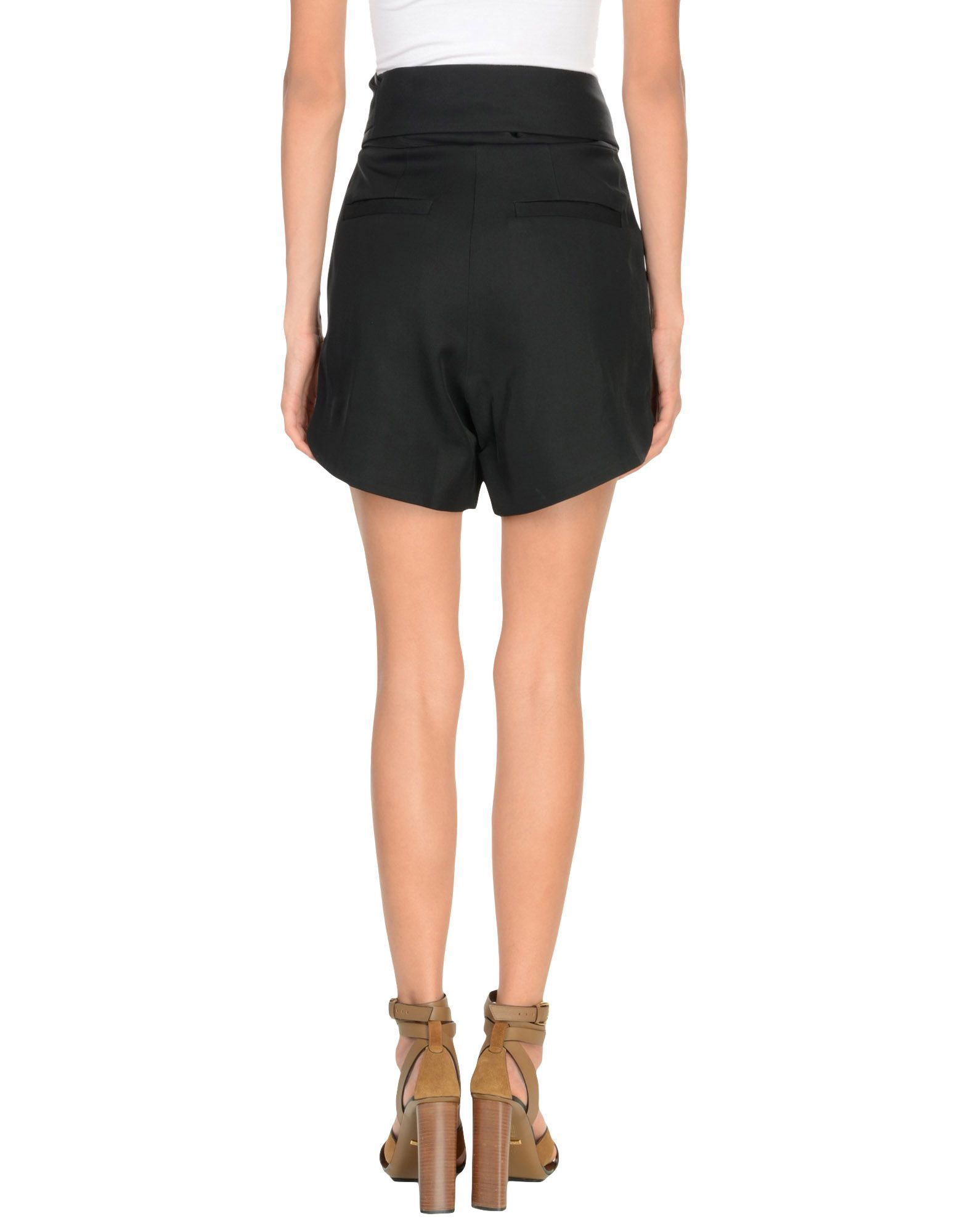 Iro Black High Waisted Shorts