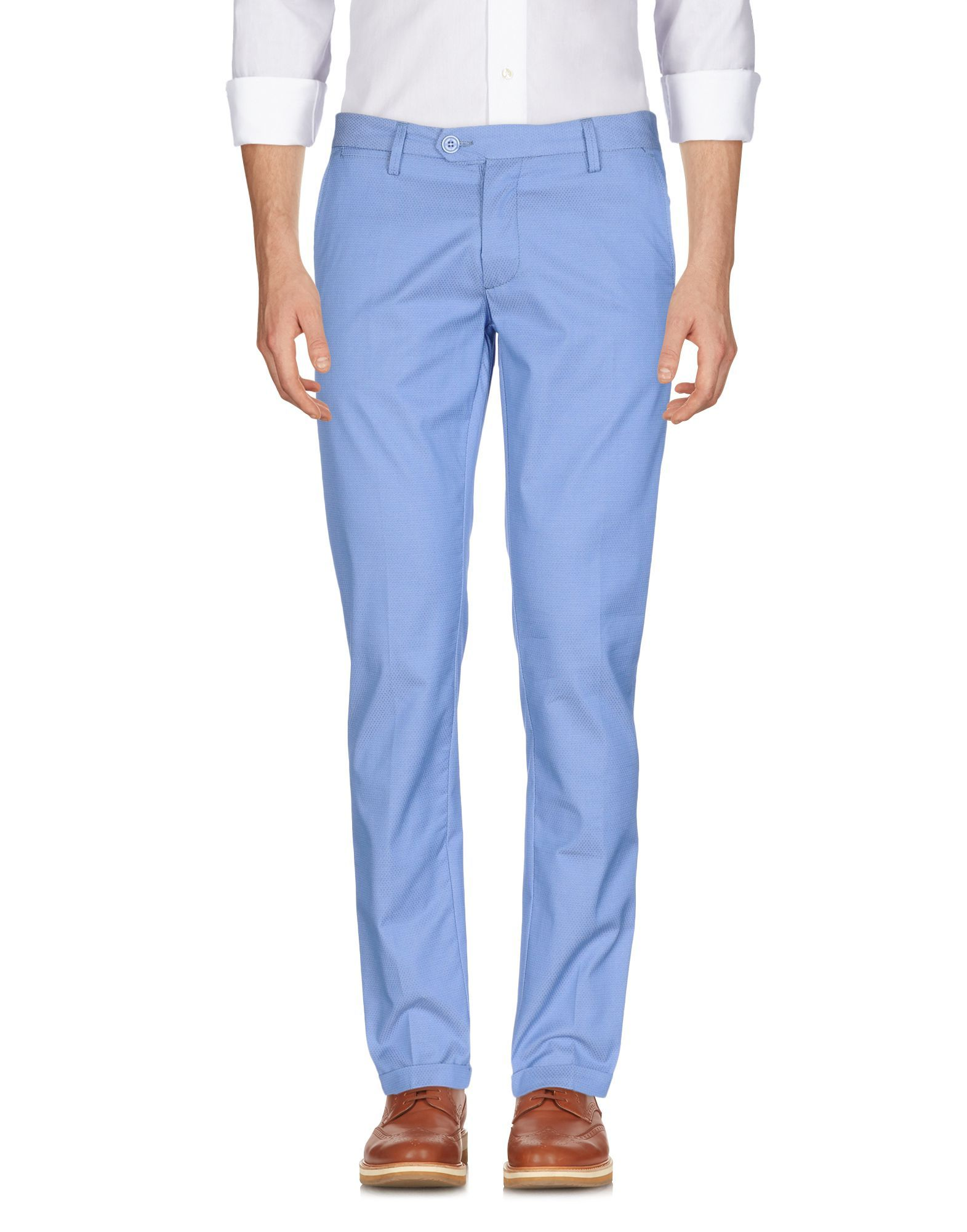Falko Rosso® Man Sky blue Casual trousers