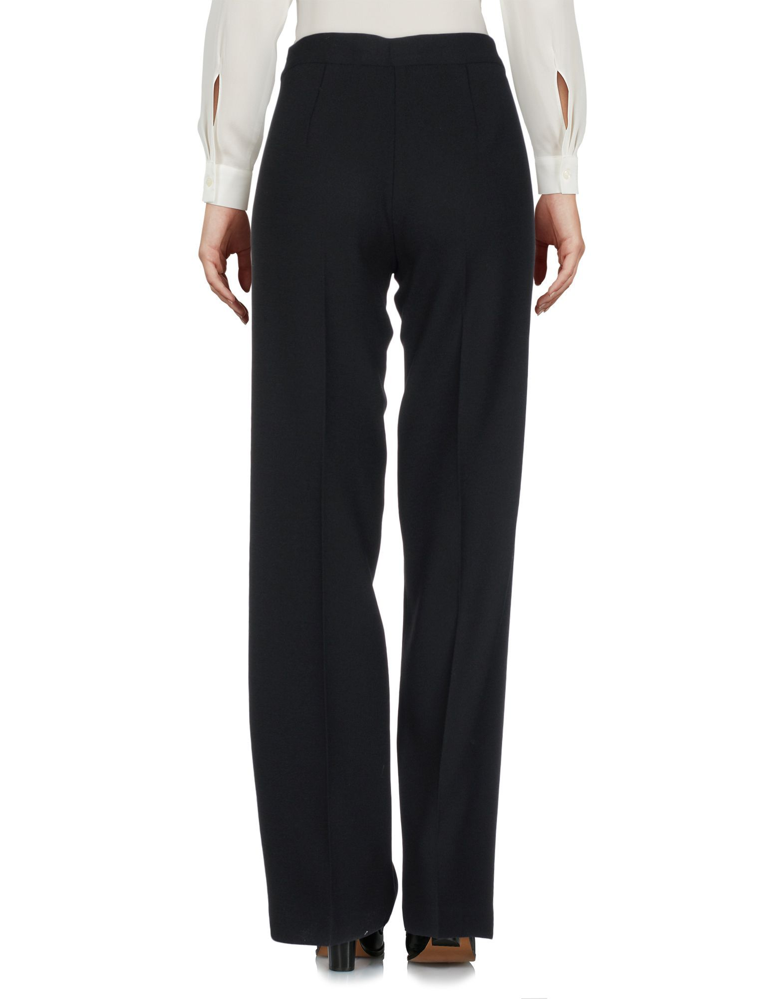 P.A.R.O.S.H. Black Wool Trousers