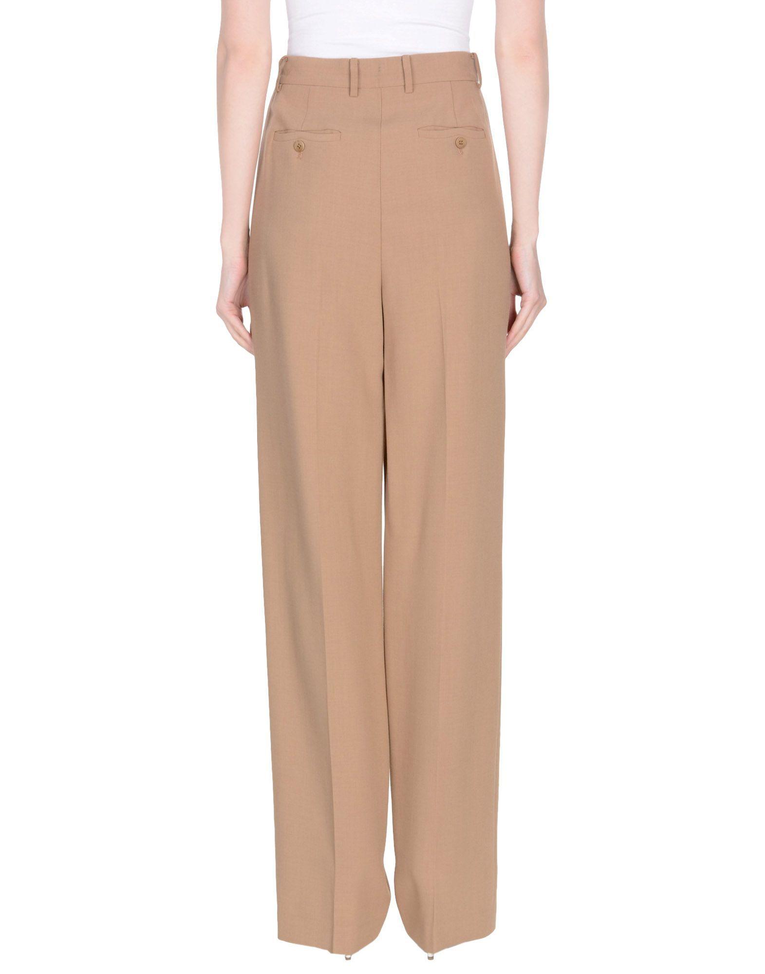 Theory Khaki Tailored Trousers