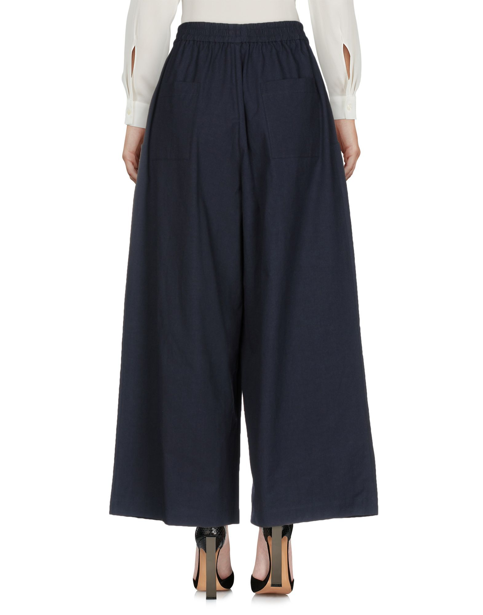 Tome Dark blue Cotton Pantaloni