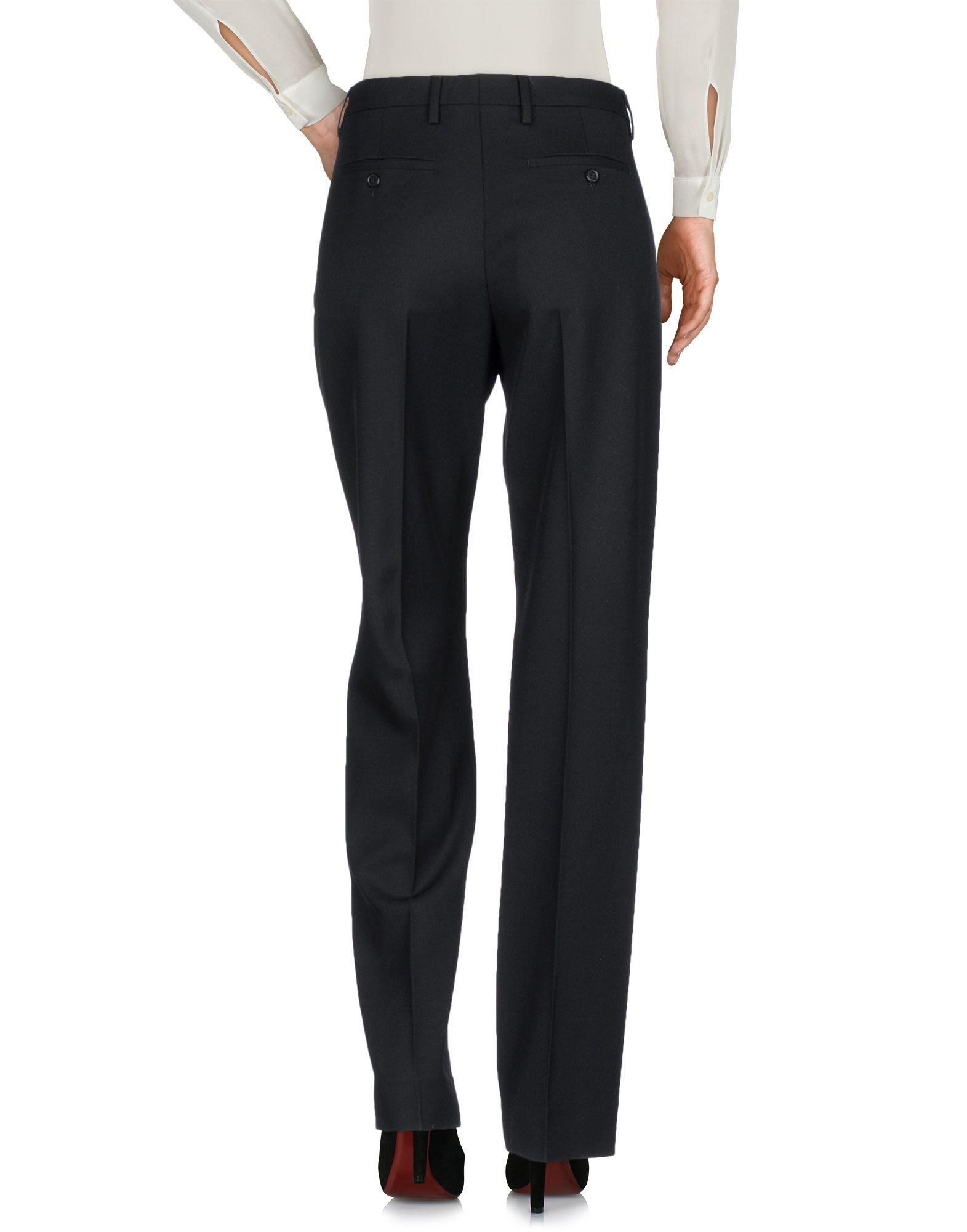 Maison Margiela Black Virgin Wool Tailored Trousers