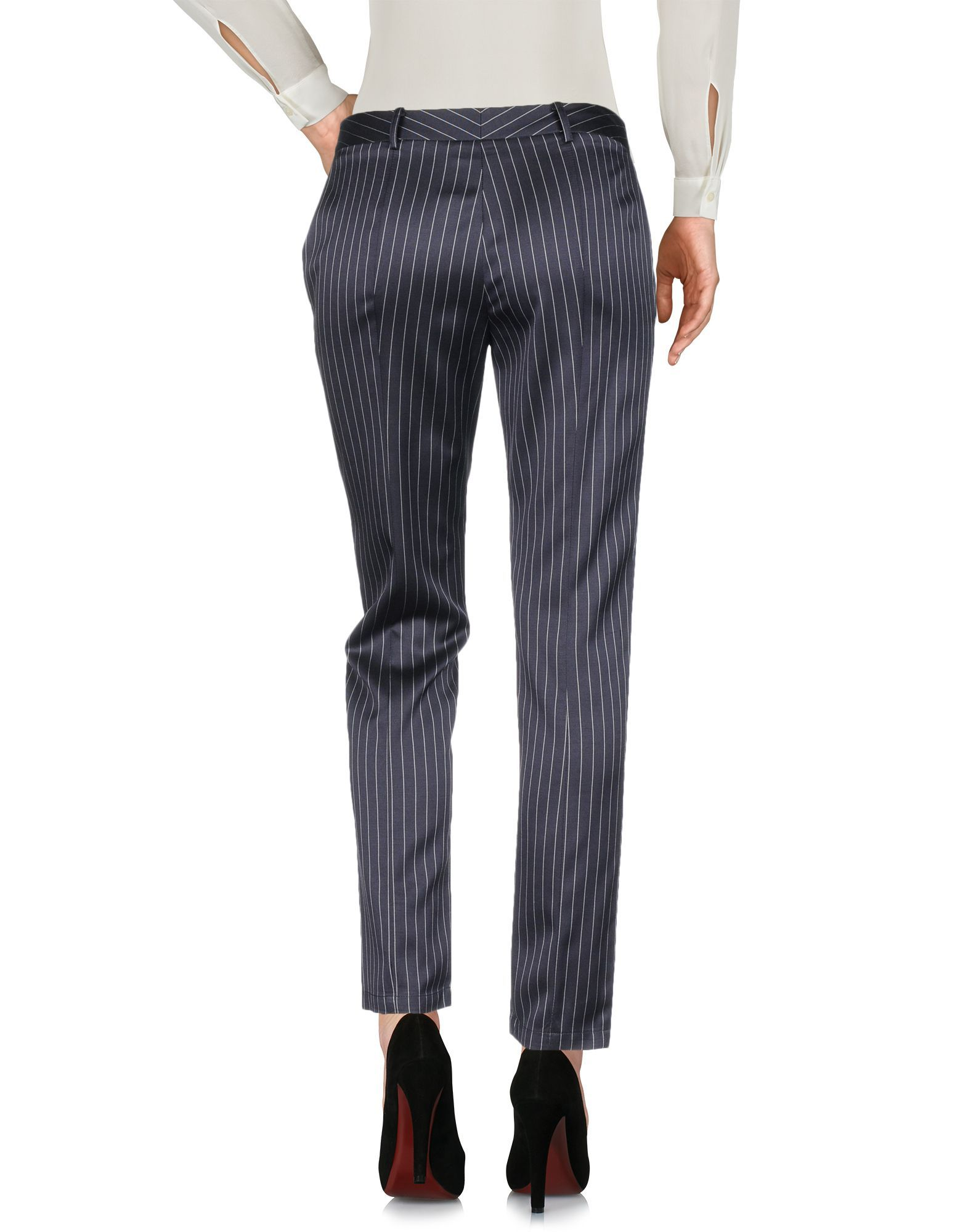 Patrizia Pepe Dark Blue Regular Fit Tailored Trousers