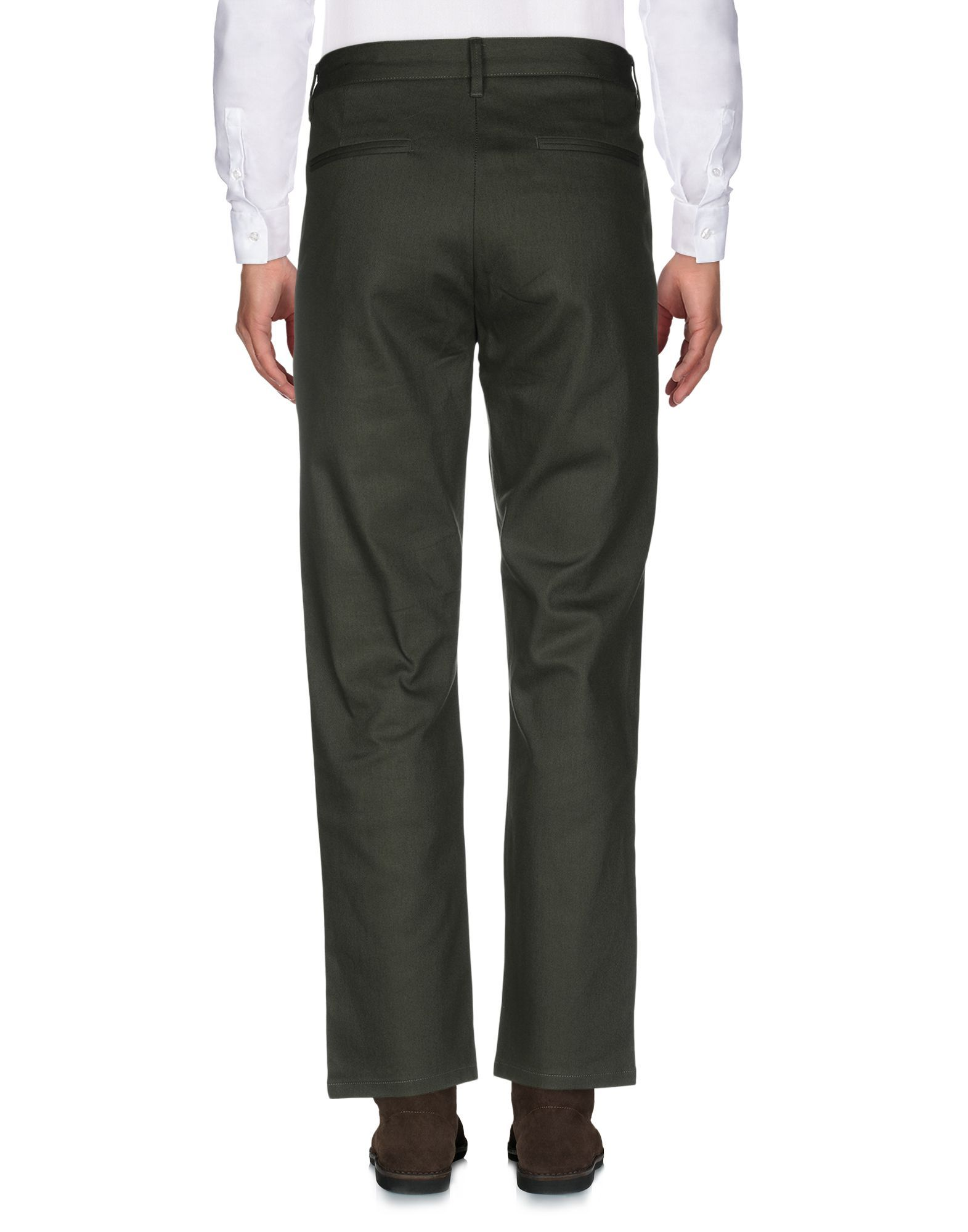 Only & Sons Military Green Cotton Straight Leg Trousers