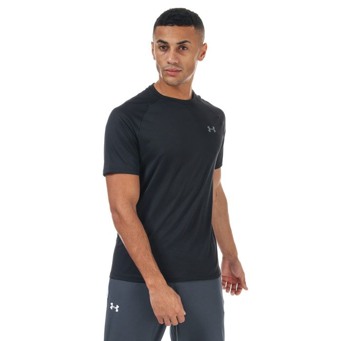 Men's Under Armour Tech 2.0 Short Sleeve T-shirt in Black