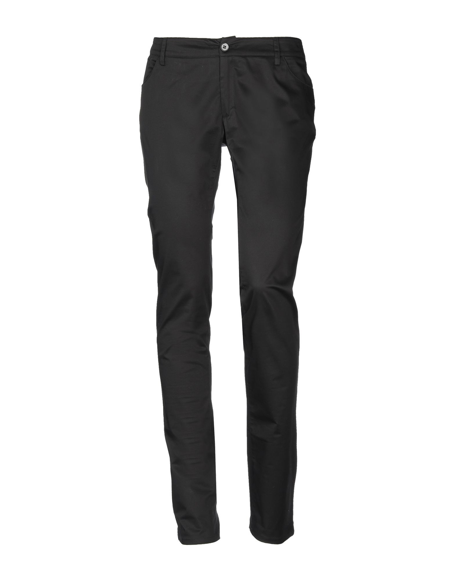 Calvin Klein Black Cotton Trousers