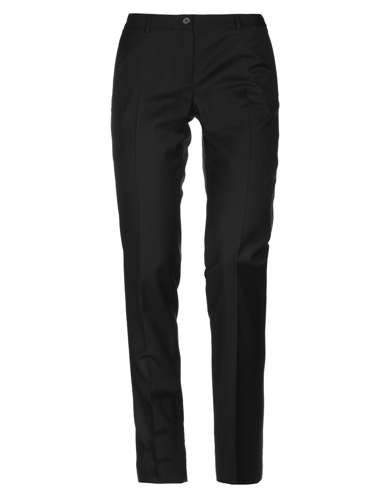 Mauro Grifoni Black Wool Trousers