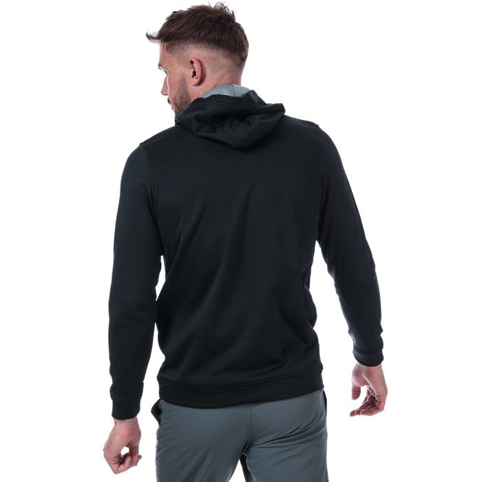 Men's Under Armour Performance Fleece Graphic Hoody in Black