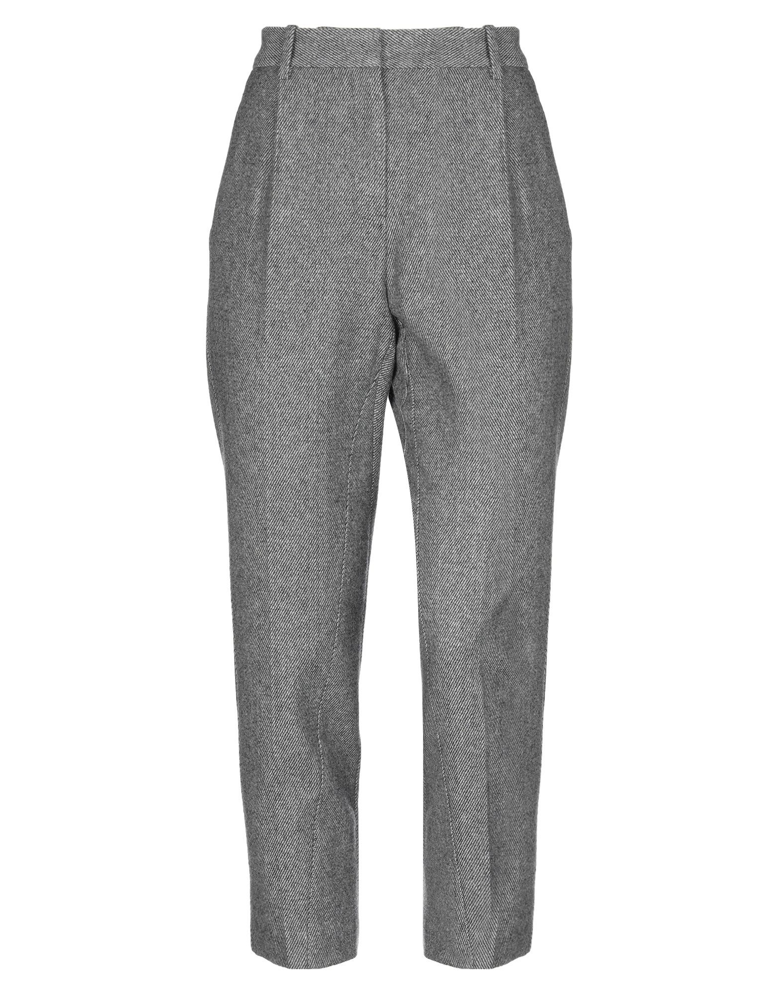 TROUSERS Maje Grey Woman Wool