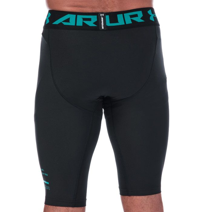 Men's Under Armour HeatGear Armour Long Shorts in Black