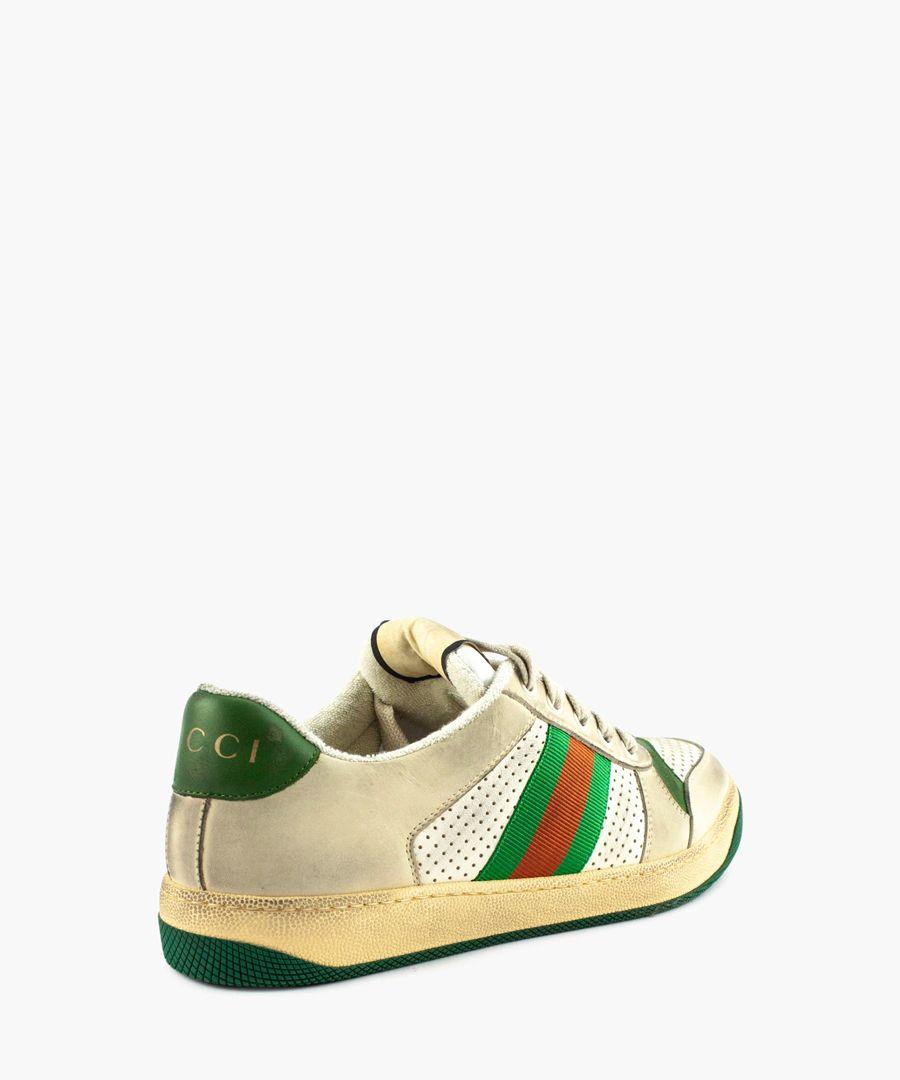 Screener leather sneaker