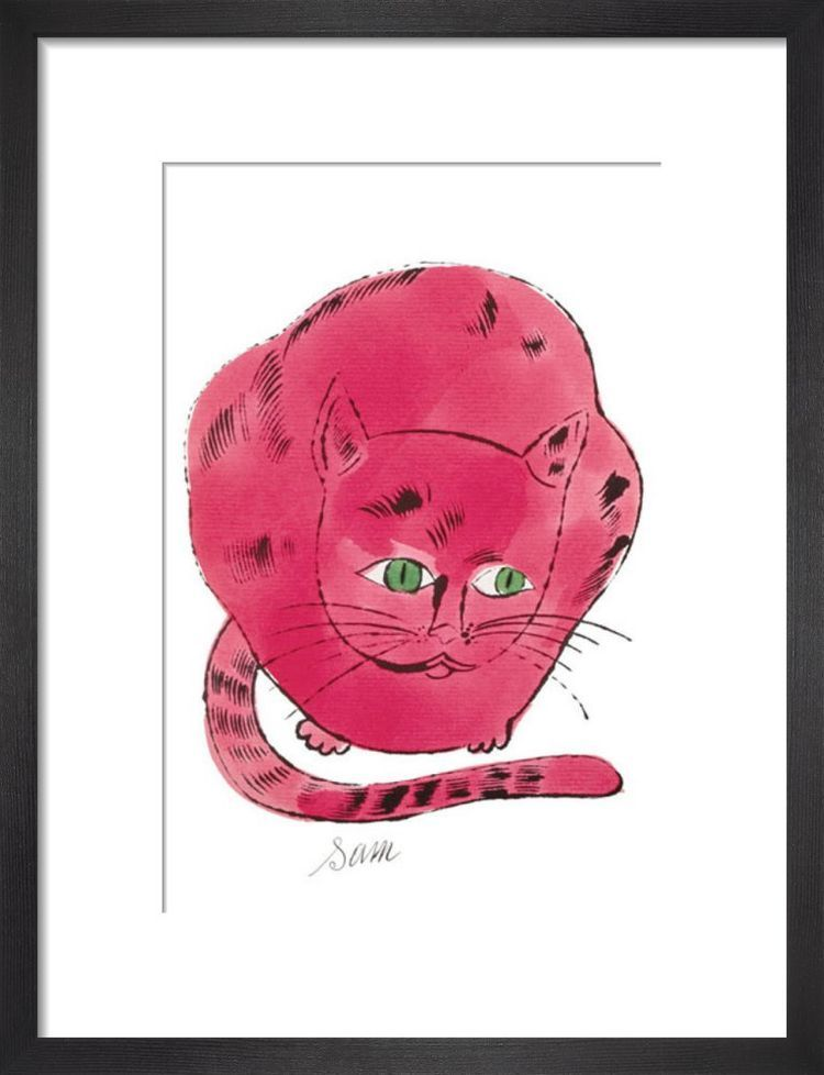 Red Sam, c.1954 Art print by Andy Warhol