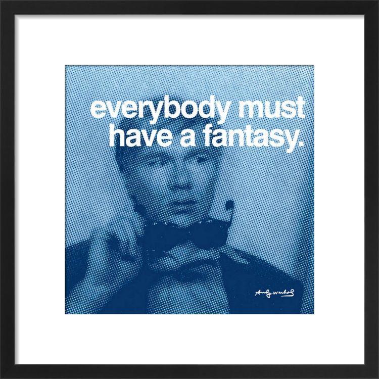 Fantasy Art print by Andy Warhol
