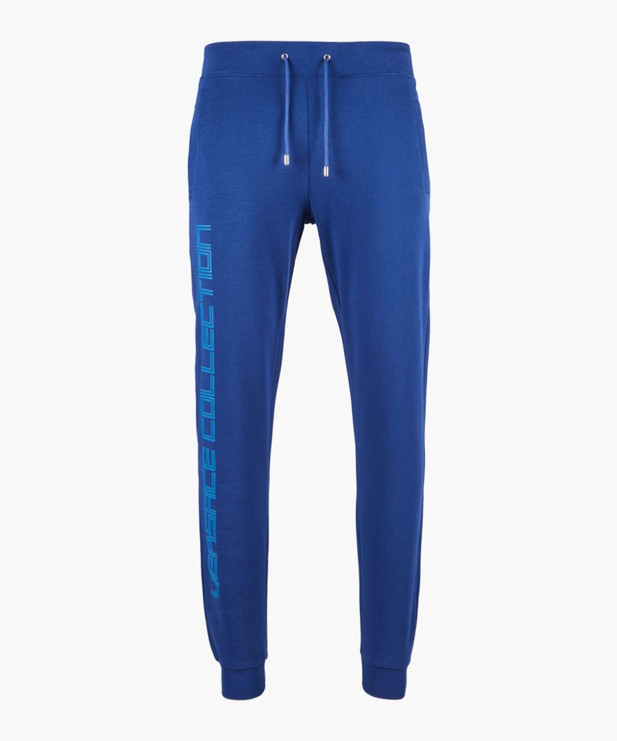 Versace collection trousers blue