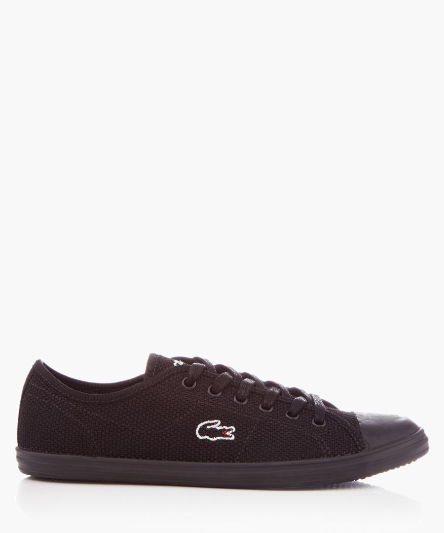 Ziane black textile sneakers