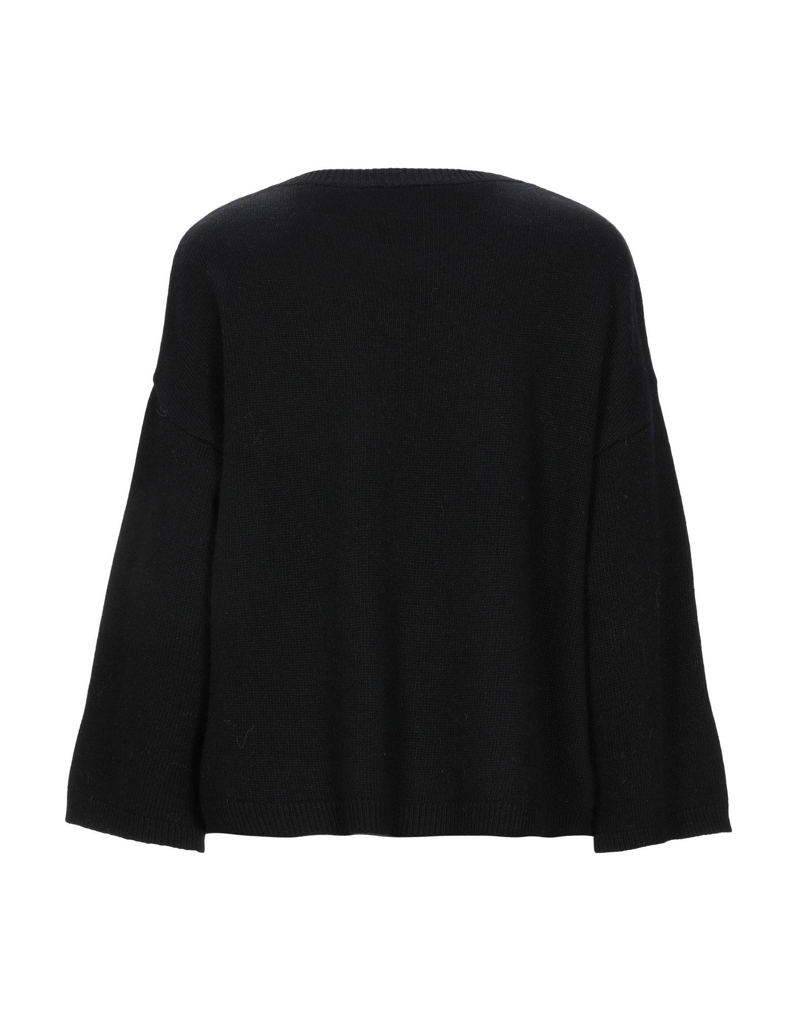 Redvalentino Black Logo Wool Jumper