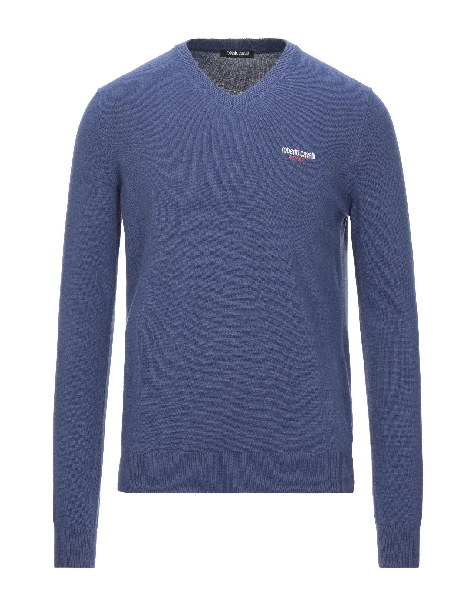 Roberto Cavalli Sport Dark Blue Jumper