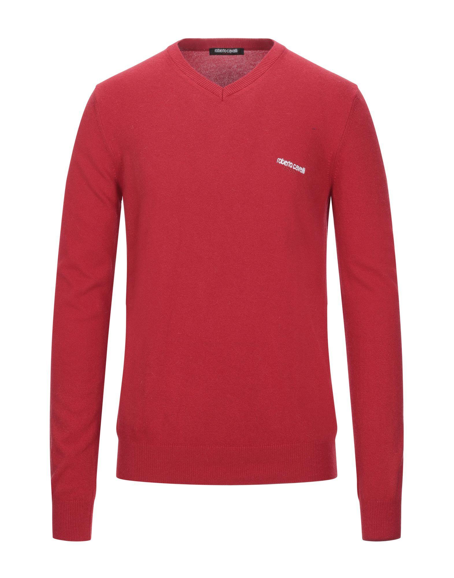 Roberto Cavalli Sport Red Jumper