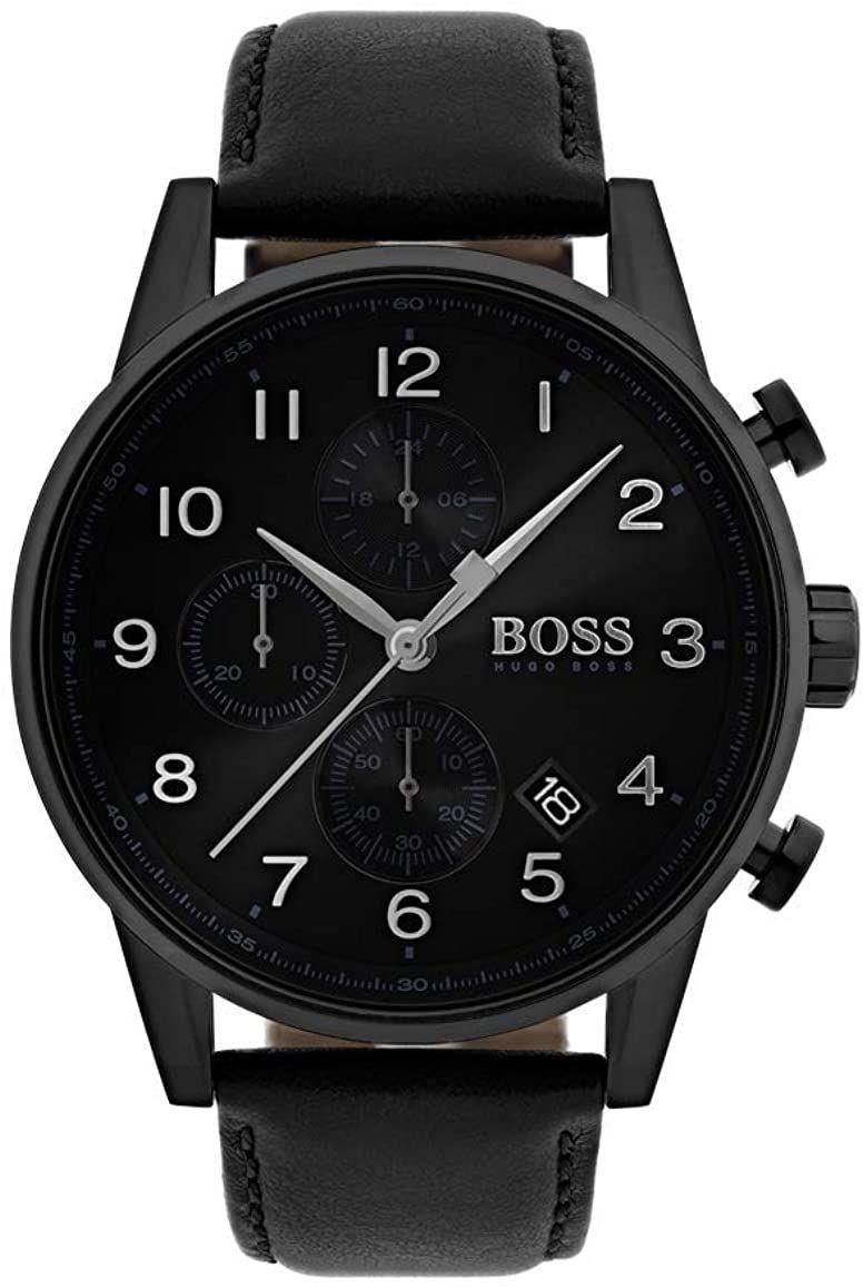 Hugo Boss Navigator Classic Leather Watch