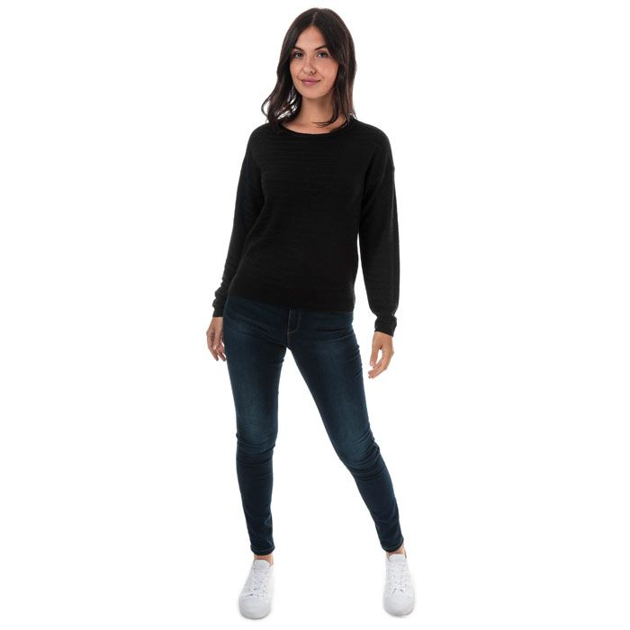 Women's Jacqueline de Yong Gadot Jumper in Black