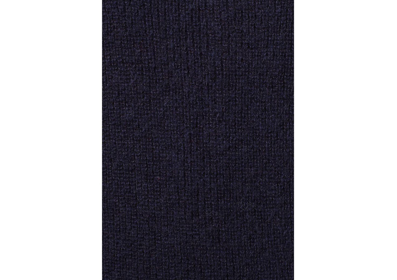 Laurel Navy Mohair-Blend Long Cardigan - Navy