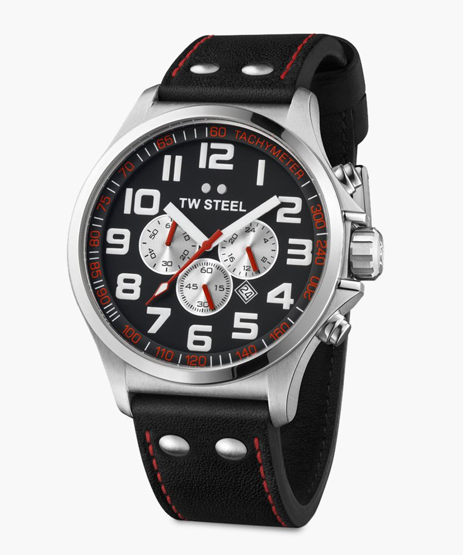 Pilot Chronograph black watch