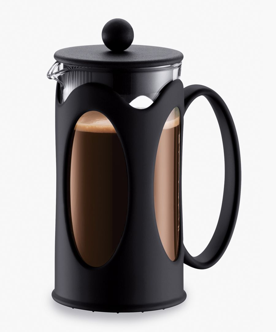 Kenya black 3-cup coffee maker 0.35L