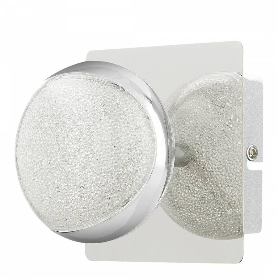 Tarvi Cool White LED 1 Light Polished Chrome Wall Light