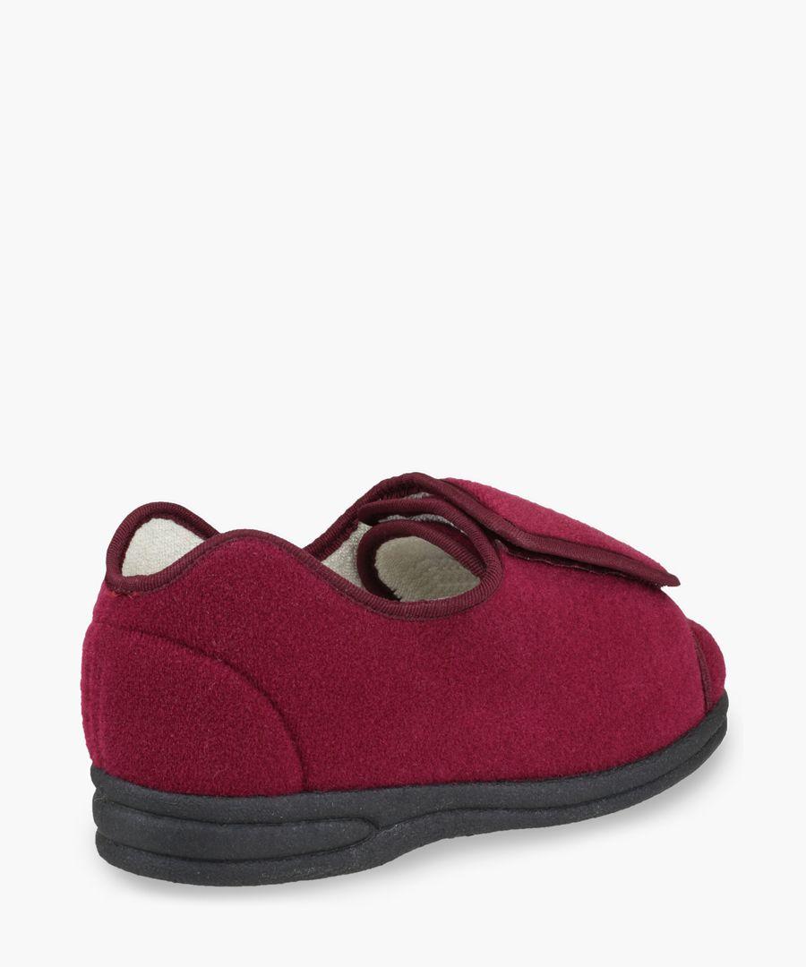 Womens wine slippers