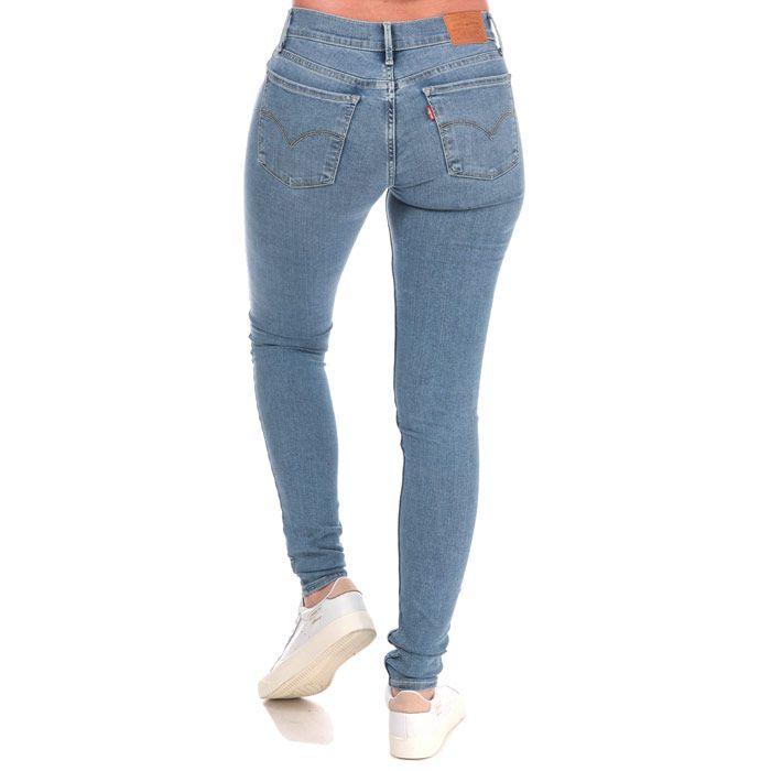 Women's Levis 710 Super Skinny Jeans in Light Blue
