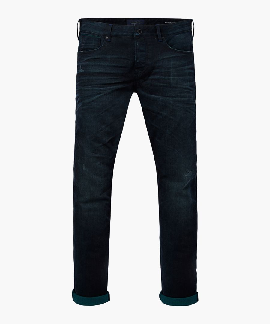 Ralston midnight wash cotton slim jeans