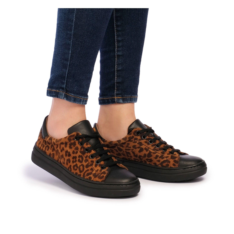 María Barceló Sport Shoes Women Sneaker Bicolor Color Laces Woman