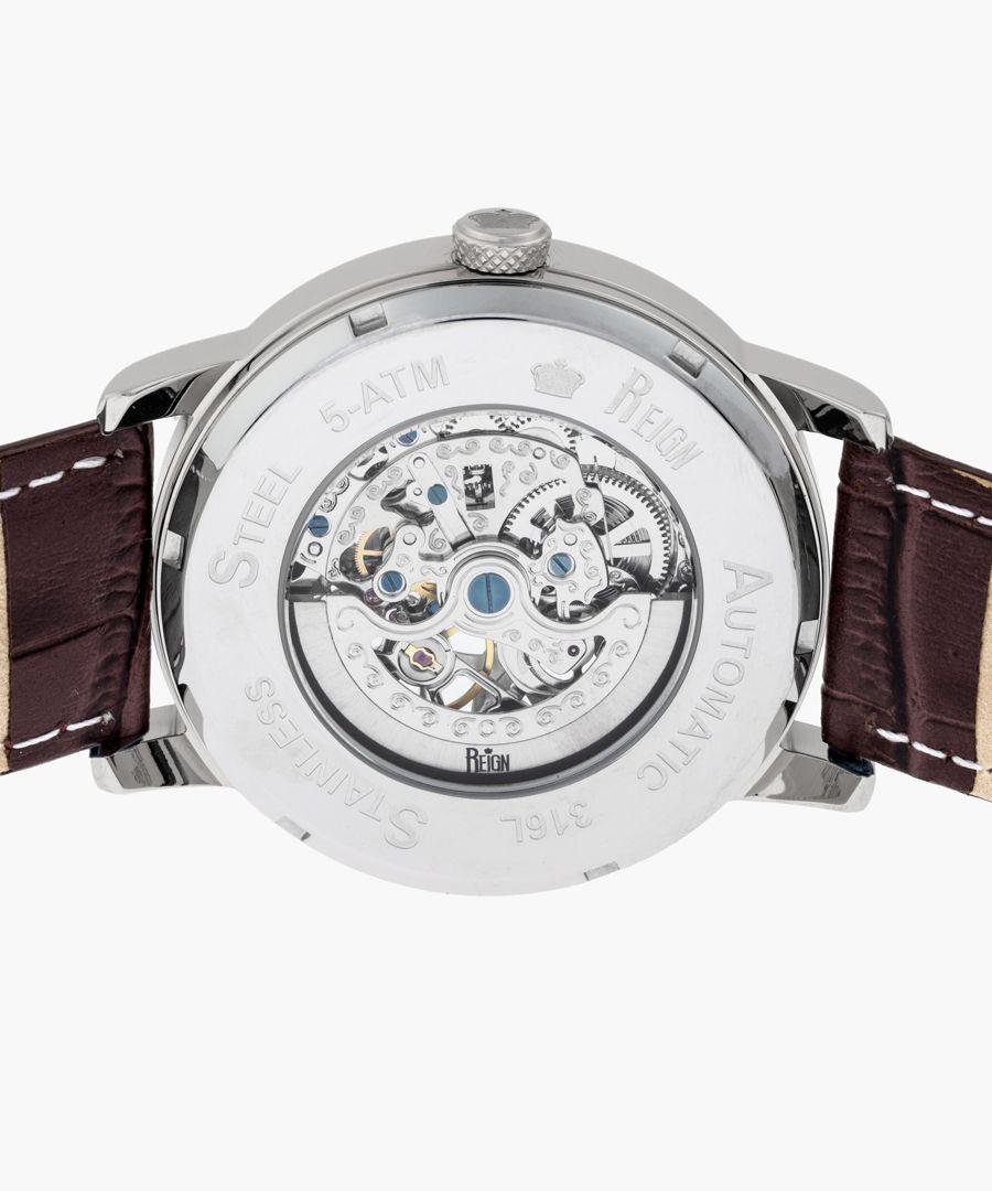 Reign Belfour brown watch
