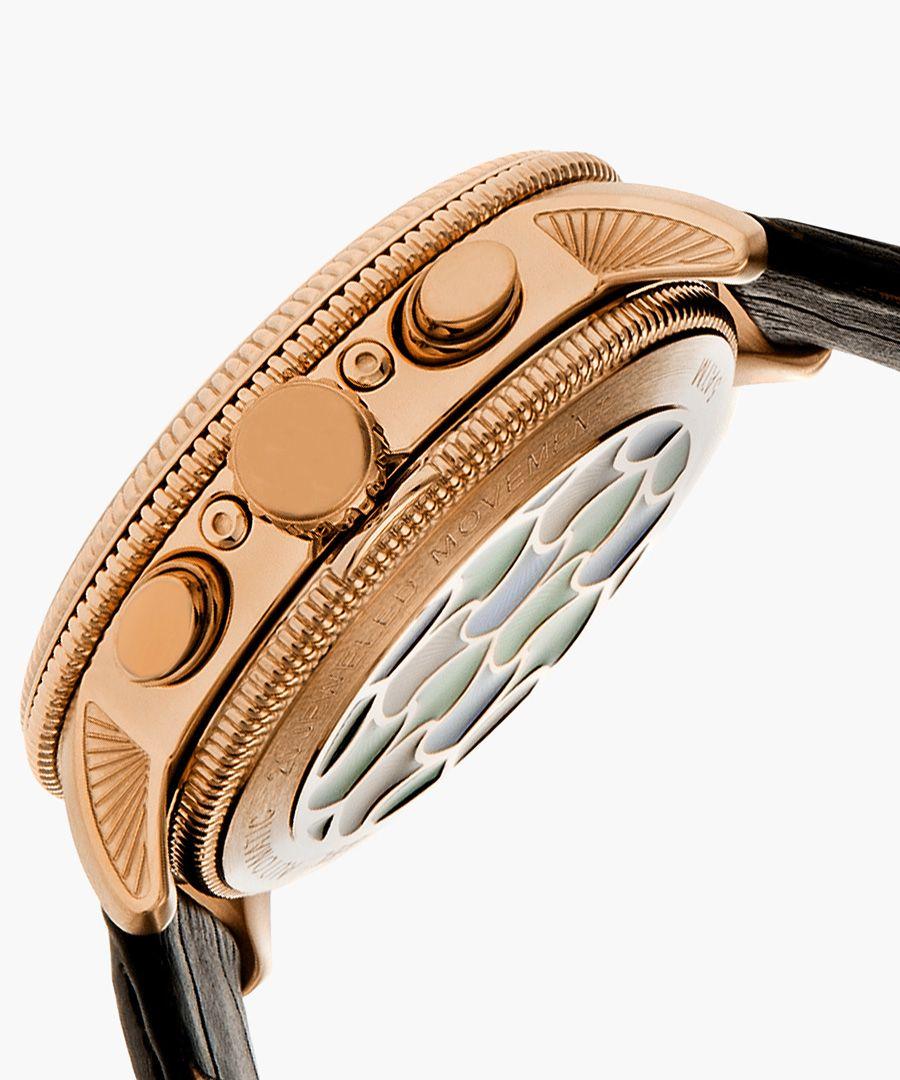 Heritor Automatic Aura black watch