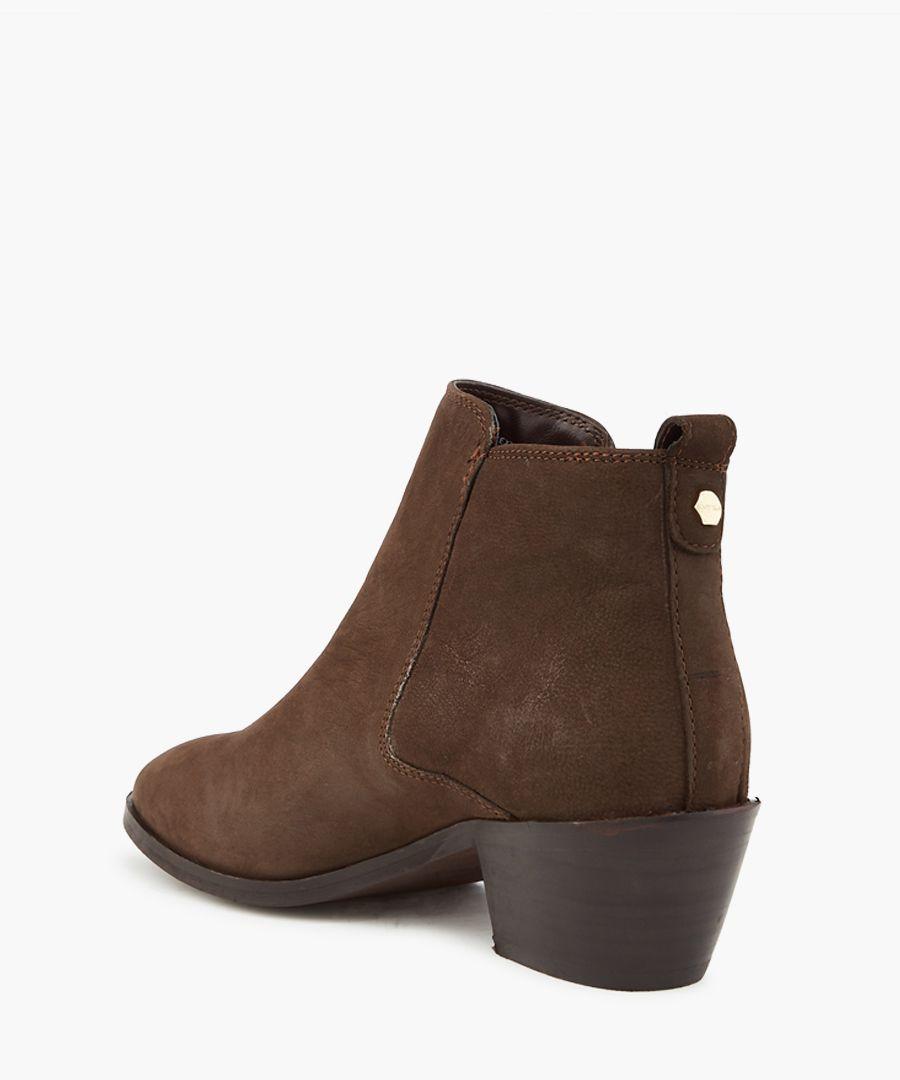 Tencil dark brown ankle boots