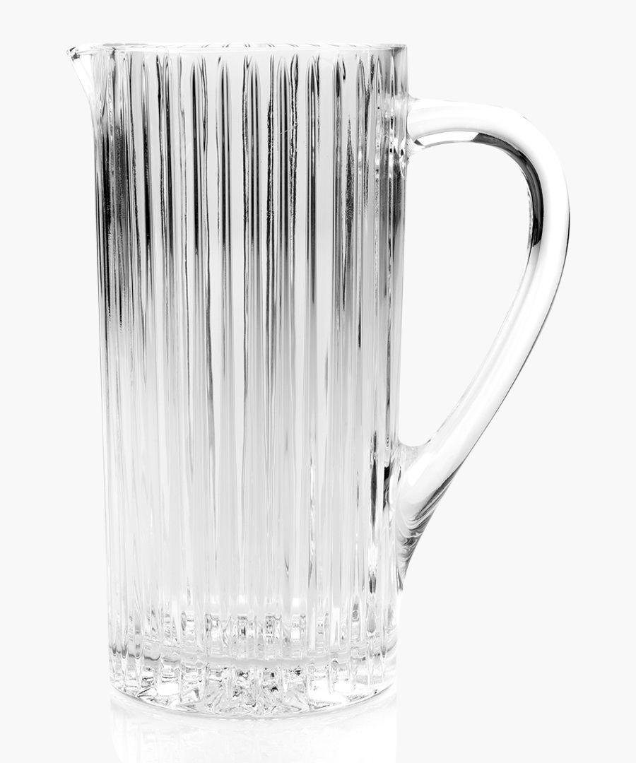 Timeless Crystal glass water juice cocktail Jug 1.2L