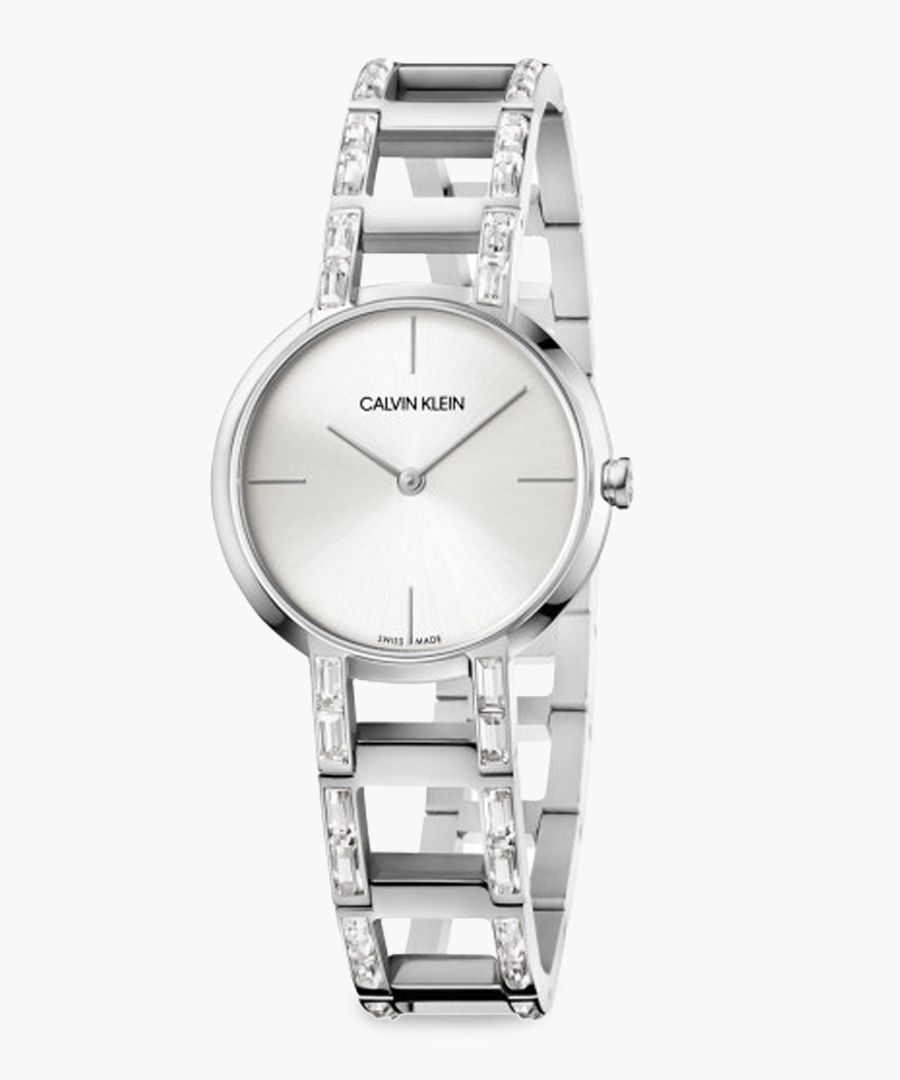 Silver-plated watch