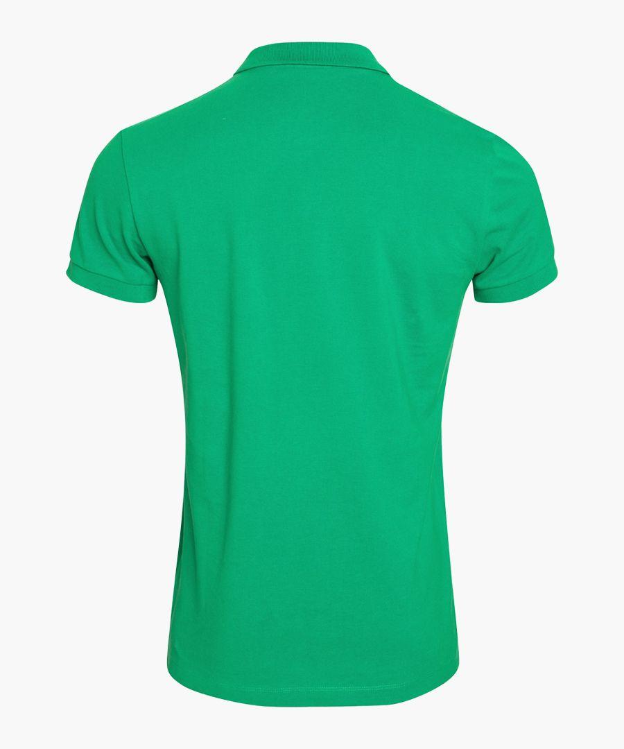 Mint pure organic cotton polo shirt