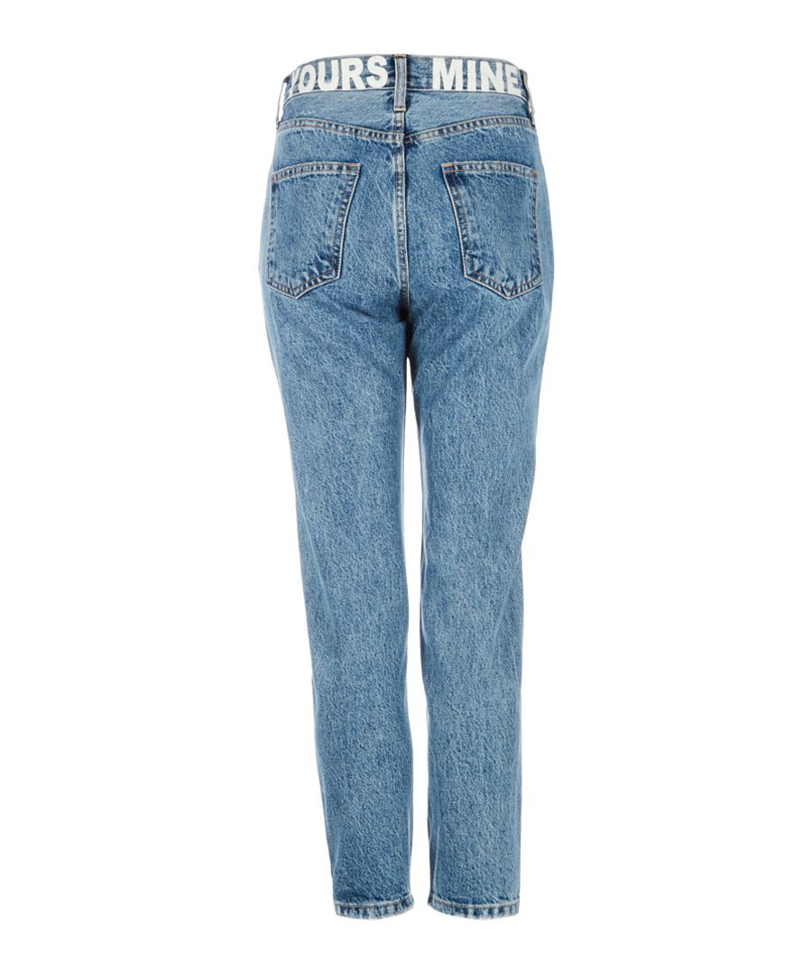 The Vintage blue cropped jeans