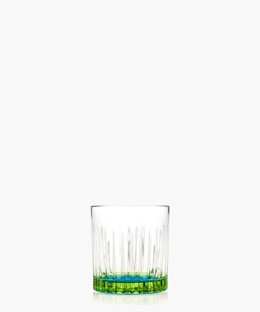 6pc Gipsy Crystal Short whisky and water tumblers glasses 360ml