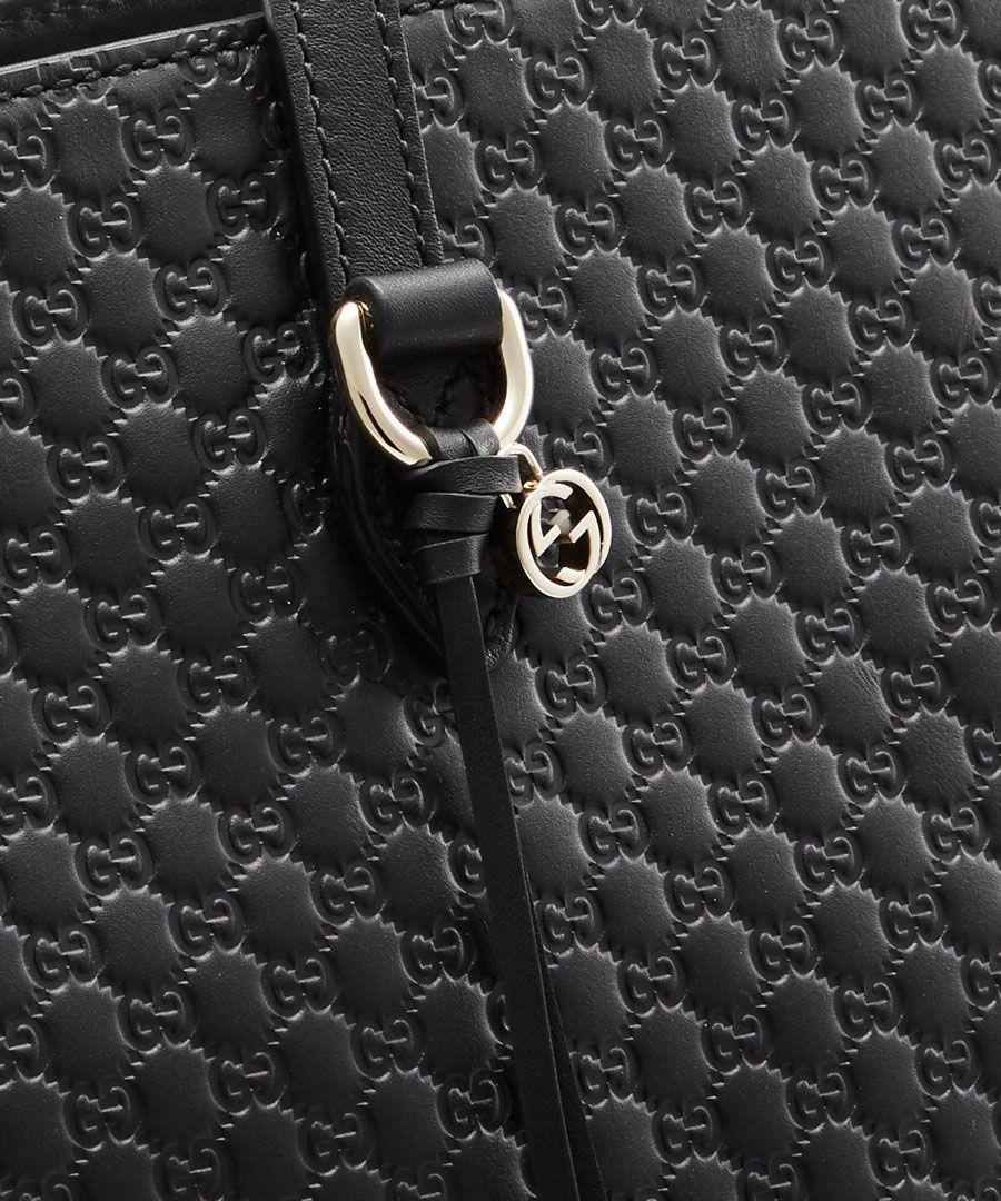 Bree black Guccissima leather shopper