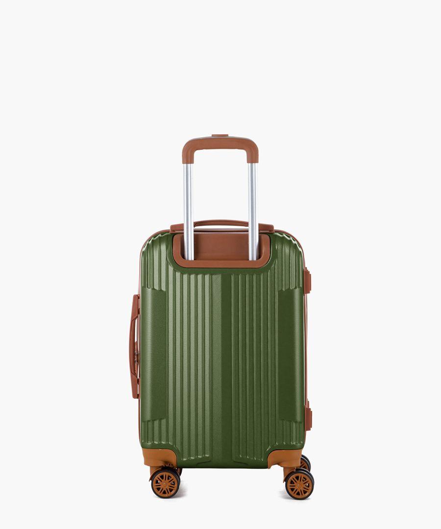 Khaki cabin suitcase