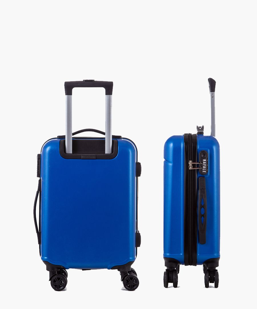 Blue cabin spinner suitcase