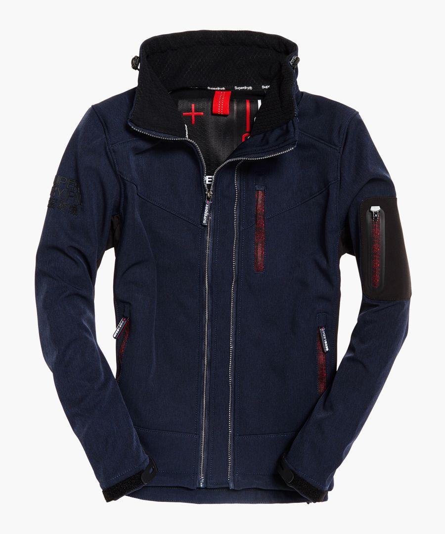 Paralex Windtrekker blue jacket