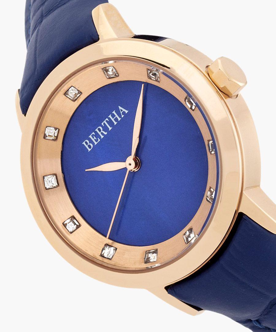 Cecelia blue watch