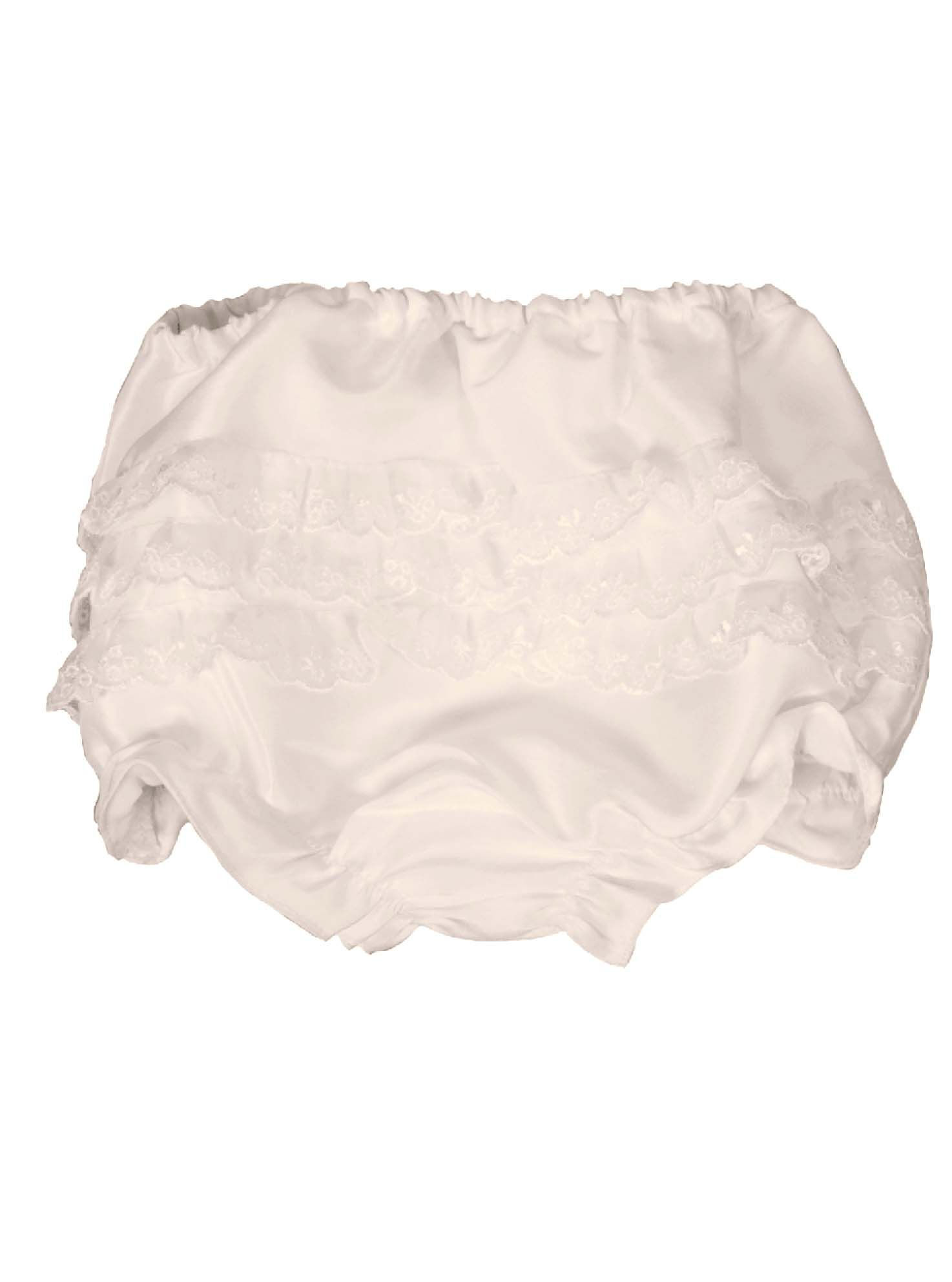 Baby Frilly Antique White Knickers