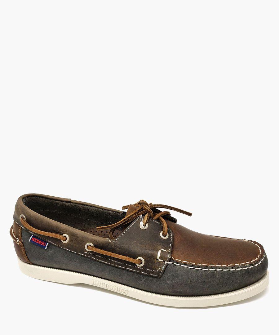 Portland Spinnaker Waxed boat shoes