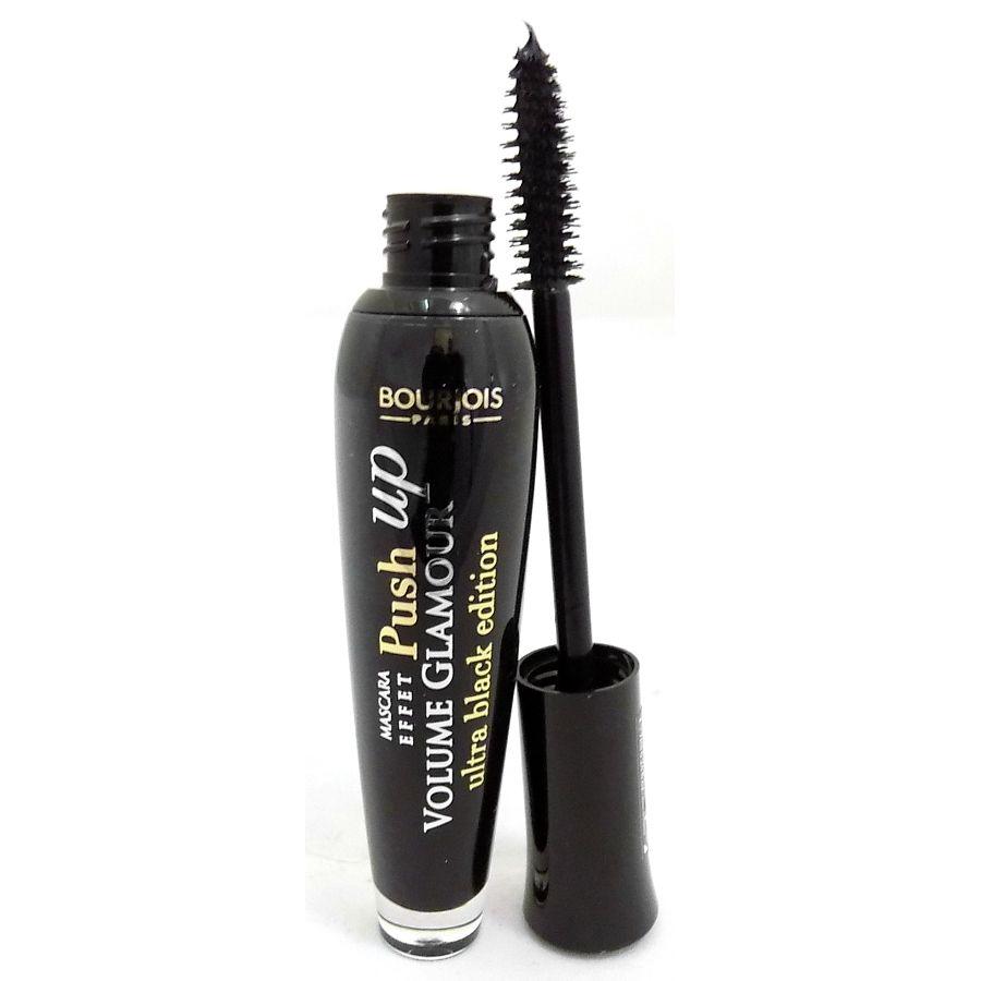 3 x Bourjois Paris Volume Glamour Push Up Mascara 7ml - T31 Ultra Black