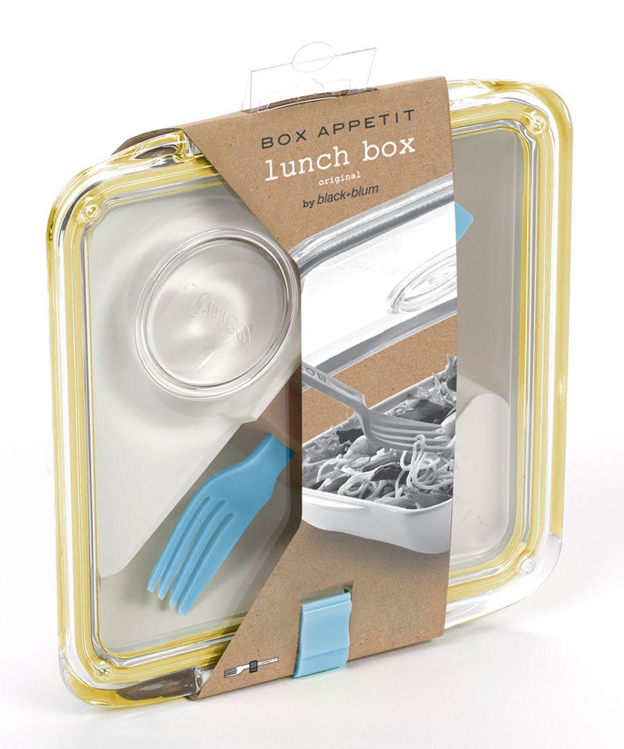 Box Appetit white & honey lunchbox