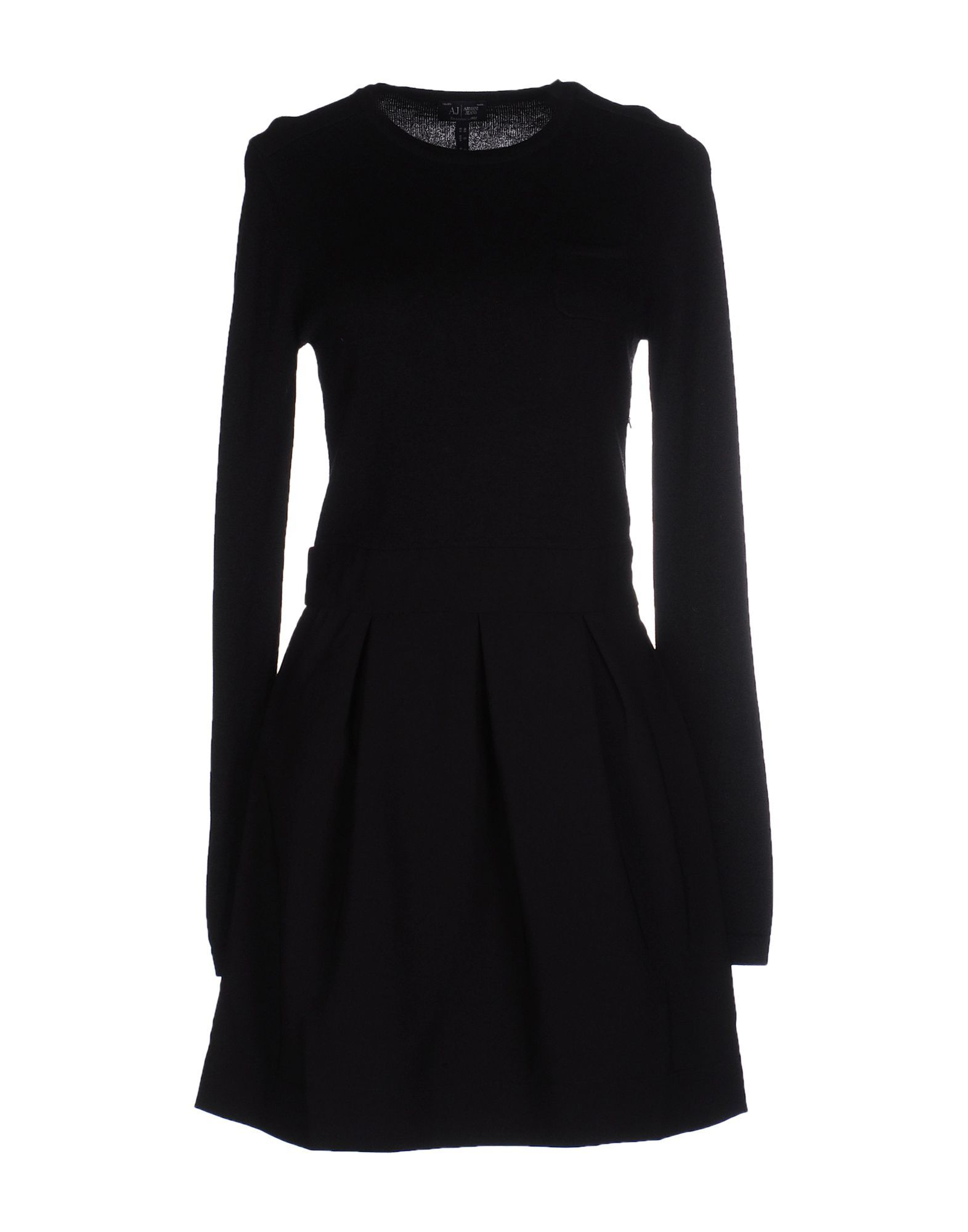 Armani Jeans Black Long Sleeve Dress
